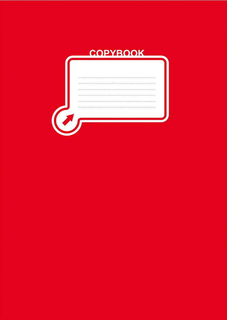 BG Тетрадь Office Book 96 листов в клетку цвет красный 17825 99 96