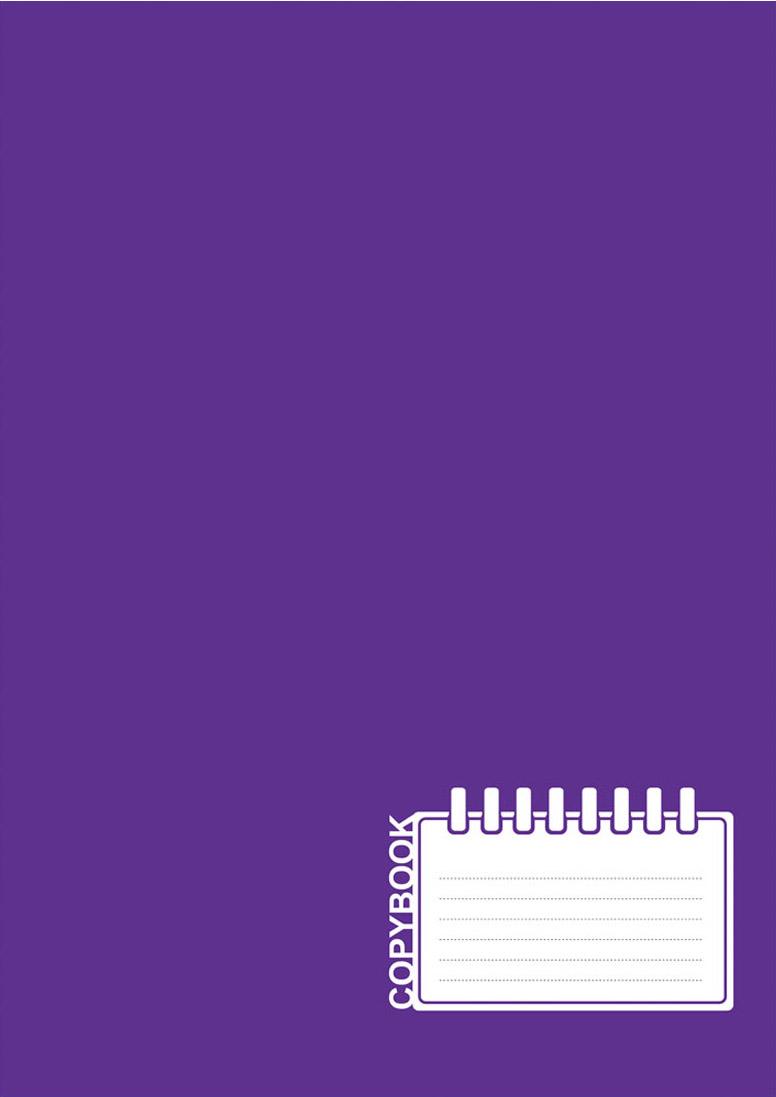 BG Тетрадь Office Book 96 листов в клетку цвет фуксия фиолетовый 17826 99 96