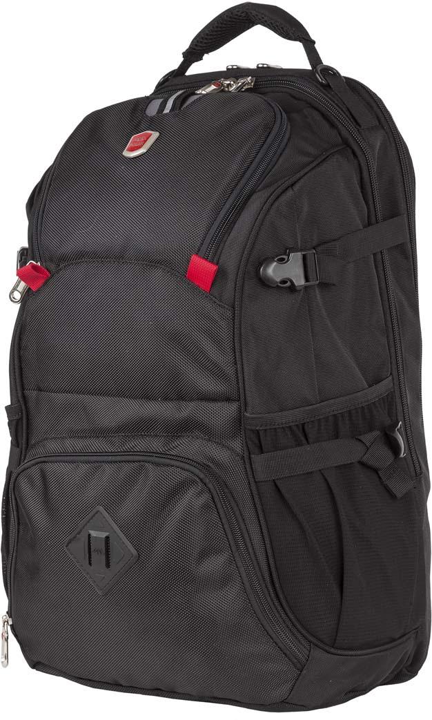 Рюкзак городской Polar, цвет: черный, 33 л. 15015 рюкзак городской polar 21 л цвет синий п955 04