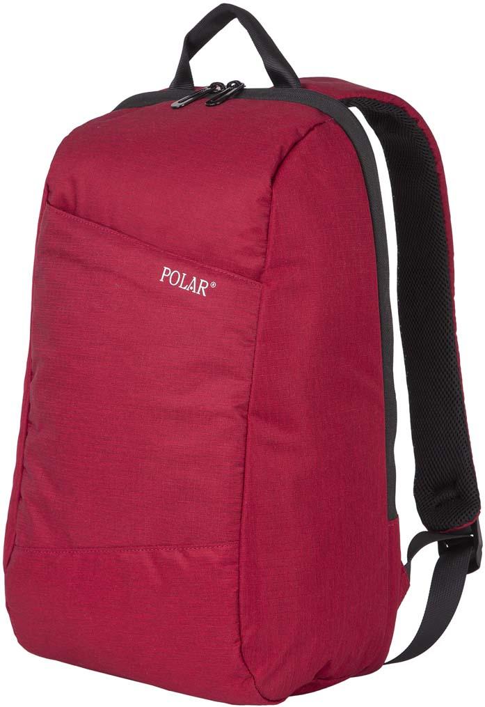Рюкзак городской Polar, цвет: бордовый, 17,5 л. К9173 рюкзак городской polar цвет бордовый 16 л п7074 14