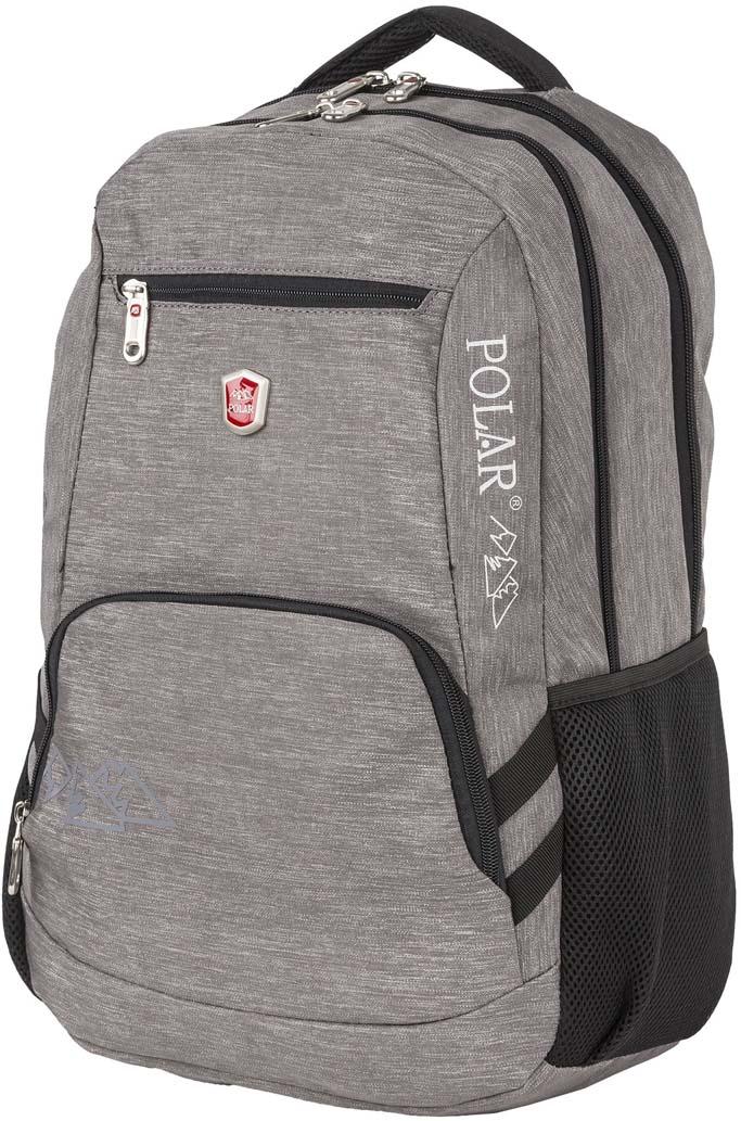 Рюкзак городской Polar, цвет: серый, 21 л. П5104-06 рюкзак polar polar po001buuiu47