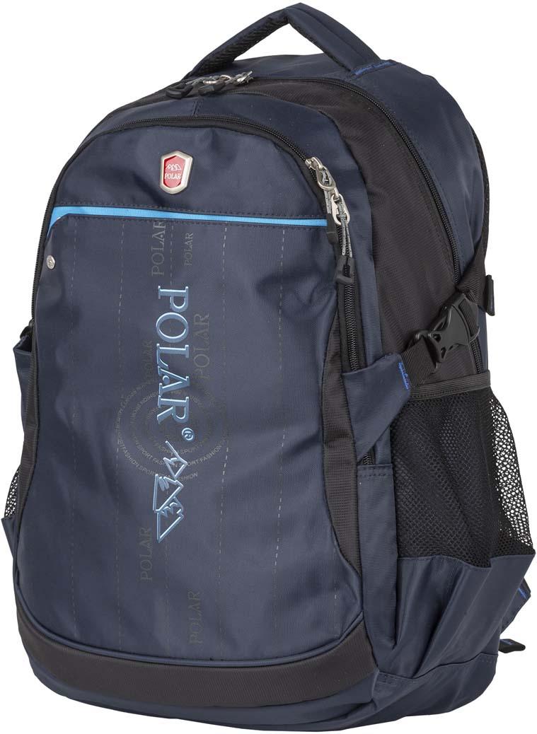 Рюкзак городской Polar, цвет: синий, 26 л. П5108-04 рюкзак polar polar po001buawnb0
