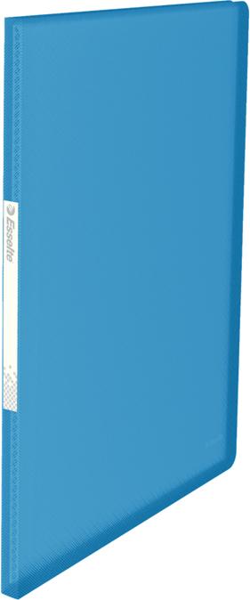 Esselte Папка с вкладышами Vivida 20 карманов цвет синий для презентации на выставке