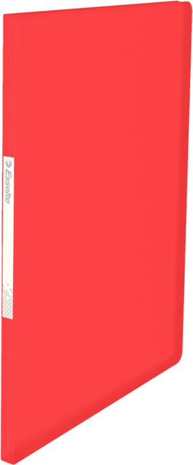 Esselte Папка с вкладышами Vivida 20 карманов цвет красный папка comix франция а4 0 3 мм на 20 карманов