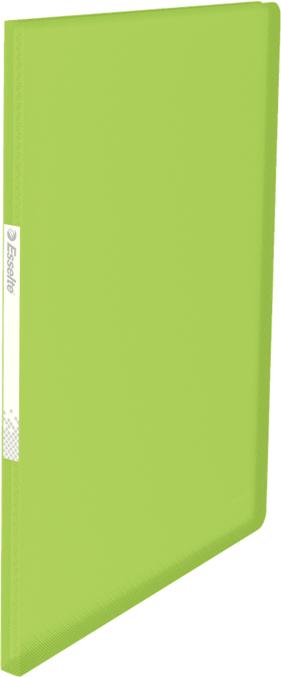 Esselte Папка с вкладышами Vivida 20 карманов цвет зеленый для презентации на выставке