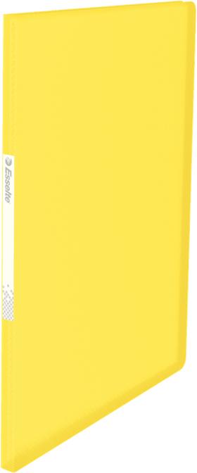 Esselte Папка с вкладышами Vivida 20 карманов цвет желтый папка comix франция а4 0 3 мм на 20 карманов