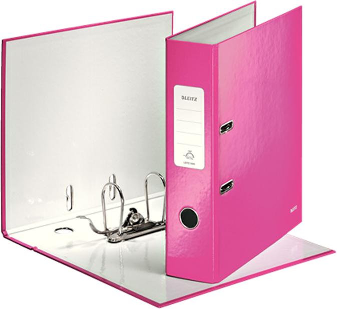 Leitz Папка-регистратор 180° WOW обложка 80 мм цвет розовый