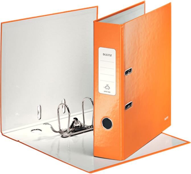 Leitz Папка-регистратор 180° WOW обложка 80 мм цвет оранжевый