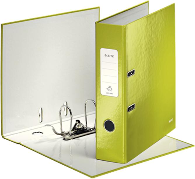 Leitz Папка-регистратор 180° WOW обложка  мм цвет зеленый