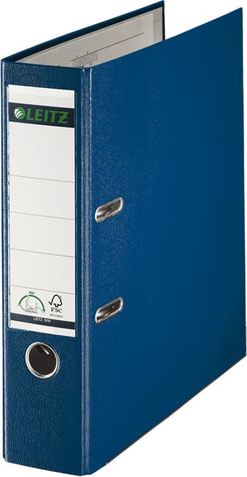 Leitz Папка-регистратор 180° обложка 80 мм цвет синий -  Папки