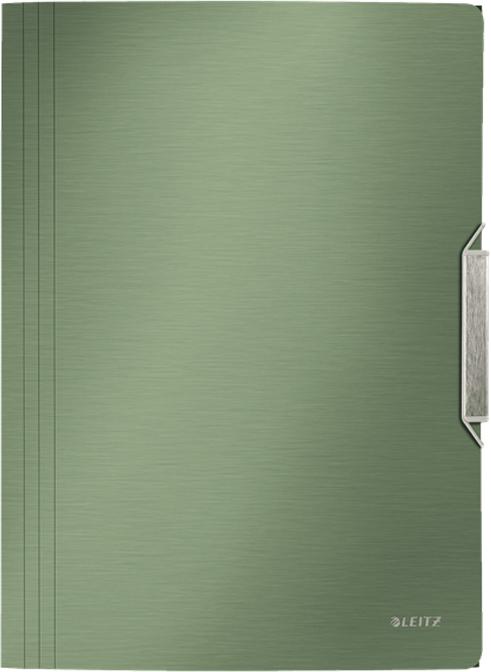 Фото Leitz Папка на резинке Style цвет зеленый