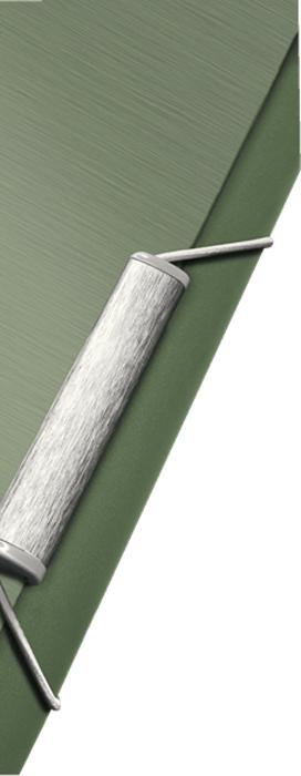 LeitzПапка на резинке Style цвет зеленый Идеально подходит для повседневного хранения бумаг и документов...