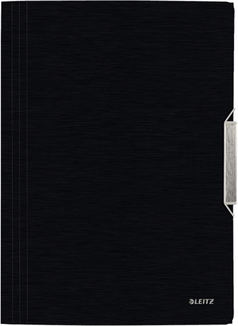 Фото Leitz Папка на резинке Style цвет черный