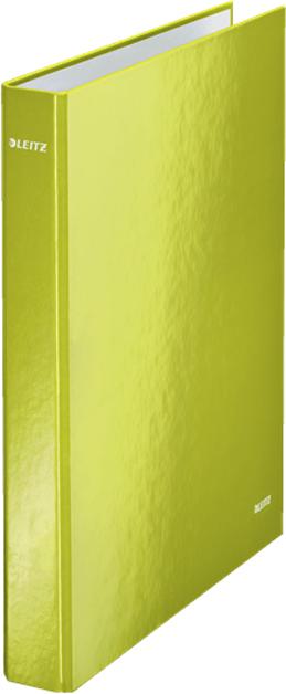 LeitzПапка на кольцах WOW 4DR обложка 25 мм цвет зеленый Вместимость - 230 листов A4 (80 г/мИ). Привлекательная двухцветная...