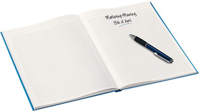 LeitzБлокнот WOW формат A4 80 листов в клетку твердый переплет цвет фиолетовый Leitz