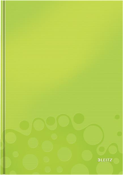 Leitz Блокнот WOW формат A4 80 листов в клетку твердый переплет цвет зеленый46261064Привлекательный блокнот в стильном, ярком цветовом исполнении. Ламинированная глянцевая поверхность демонстрирует высокое качество продукта. Идеально дополняет другие товары из коллекции Leitz WOW.