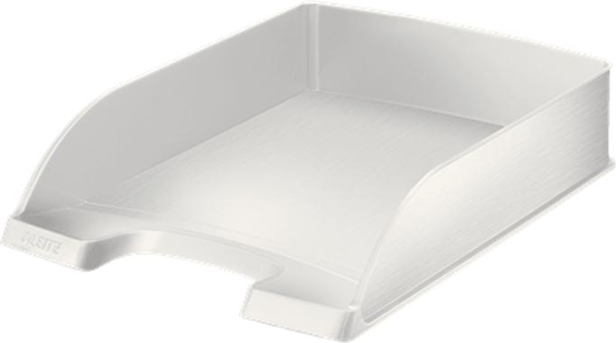 Leitz Лоток для бумаг Style горизонтальный цвет белая сталь -  Лотки, подставки для бумаг