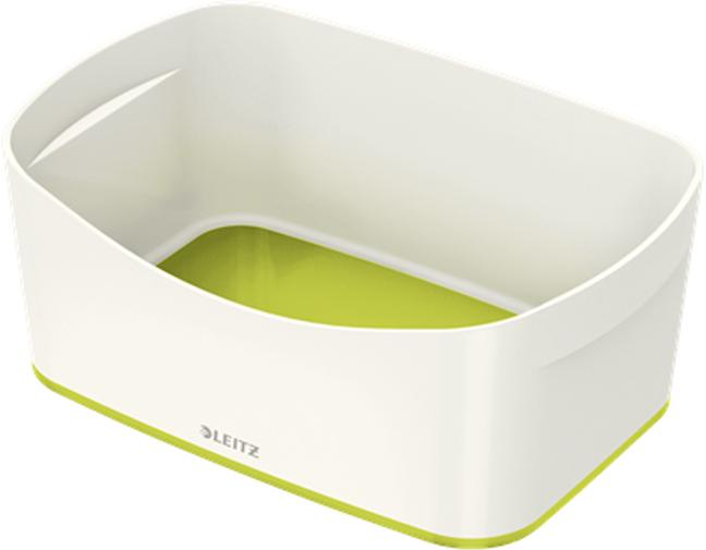 Leitz Лоток для хранения MyBox цвет белый зеленый -  Лотки, подставки для бумаг