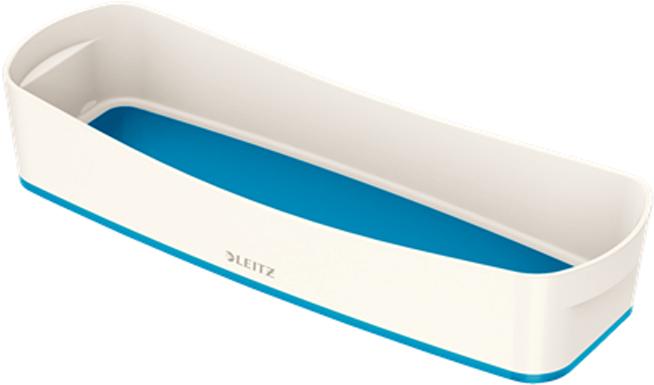 Leitz Лоток для письменных принадлежностей MyBox цвет белый синий -  Лотки, подставки для бумаг