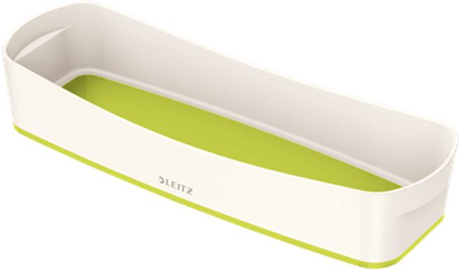 Leitz Лоток для письменных принадлежностей MyBox цвет белый зеленый -  Лотки, подставки для бумаг