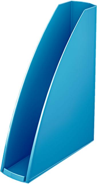 Leitz Лоток для бумаг WOW вертикальный цвет синий
