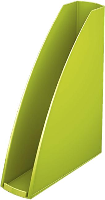 Leitz Лоток для бумаг WOW вертикальный цвет зеленый -  Лотки, подставки для бумаг