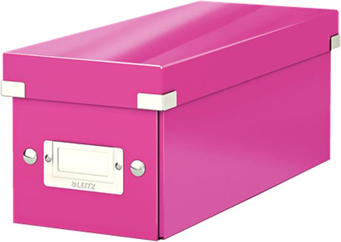 Leitz Короб архивный для CD Click-n-Store WOW цвет розовый -  Лотки, подставки для бумаг