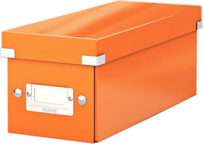 Leitz Короб архивный для CD Click-n-Store WOW цвет оранжевый -  Лотки, подставки для бумаг