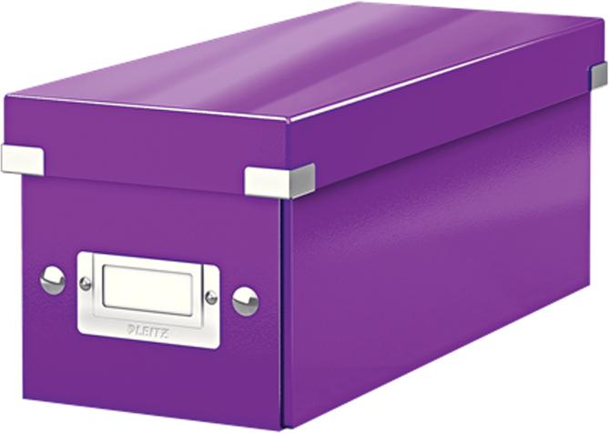 Leitz Короб архивный для CD Click-n-Store цвет фиолетовый