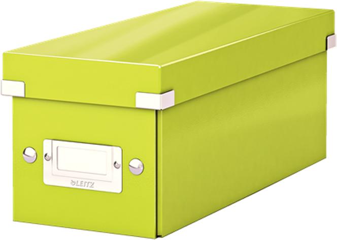 Leitz Короб архивный для CD Click-n-Store WOW цвет зеленый