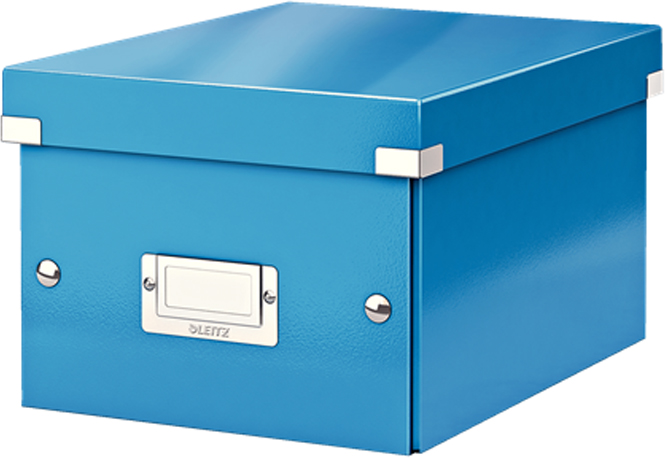 Leitz Короб архивный Click-n-Store размер S (A5) цвет синий