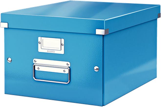 Leitz Короб архивный Click-n-Store размер M (A4) цвет синий короб для хранения размер m denise