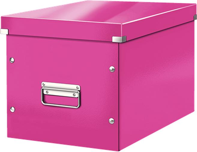 Leitz Короб архивный Click-n-Store размер L цвет розовый короб для хранения размер l denise
