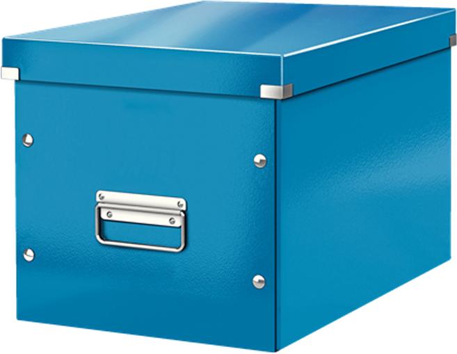Leitz Короб архивный Click-n-Store размер L цвет синий обеденный стул ikea ikea home shopping service ikea