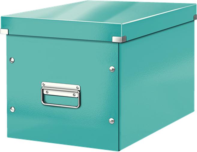 Leitz Короб архивный Click-n-Store размер L цвет бирюзовый короб для хранения размер l denise