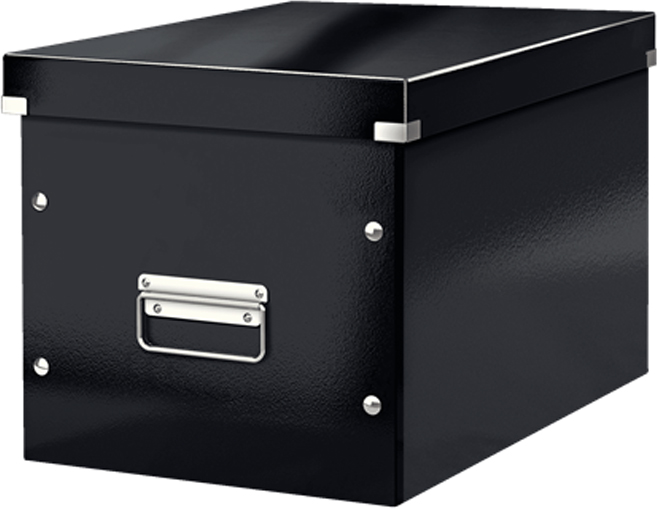 Leitz Короб архивный Click-n-Store размер L цвет черный стол обеденный ikea ikea shanghai residents ikea