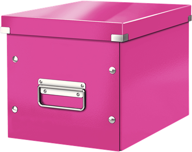 Leitz Короб архивный Click-n-Store размер М цвет розовый -  Лотки, подставки для бумаг