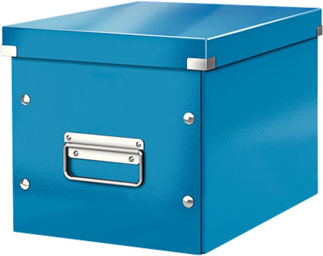 Leitz Короб архивный Click-n-Store размер М цвет синий обеденный стул ikea ikea home shopping service ikea