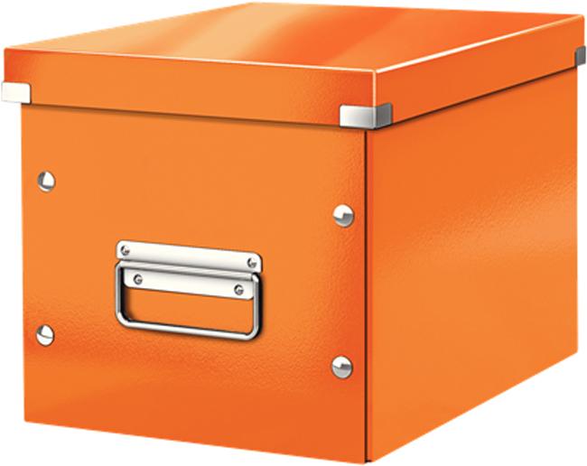 Leitz Короб архивный Click-n-Store размер М цвет оранжевый обеденный стул ikea ikea home shopping service ikea