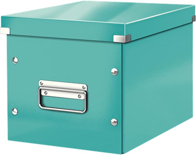 Leitz Короб архивный Click-n-Store размер М цвет бирюзовый бокс для хранения вещей ikea ikea