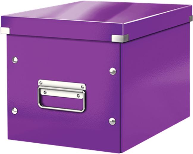 Leitz Короб архивный Click-n-Store размер М цвет фиолетовый бокс для хранения вещей ikea ikea