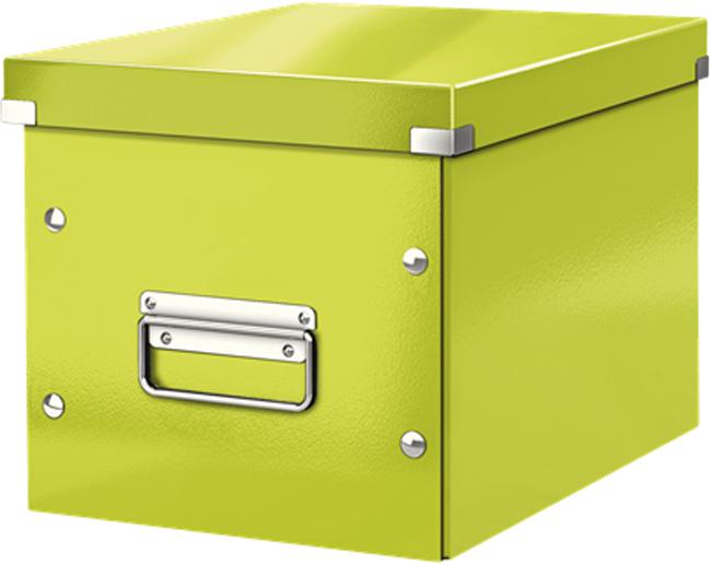Leitz Короб архивный Click-n-Store размер М цвет зеленый лампочка ikea sweden for ikea ikea led gu10