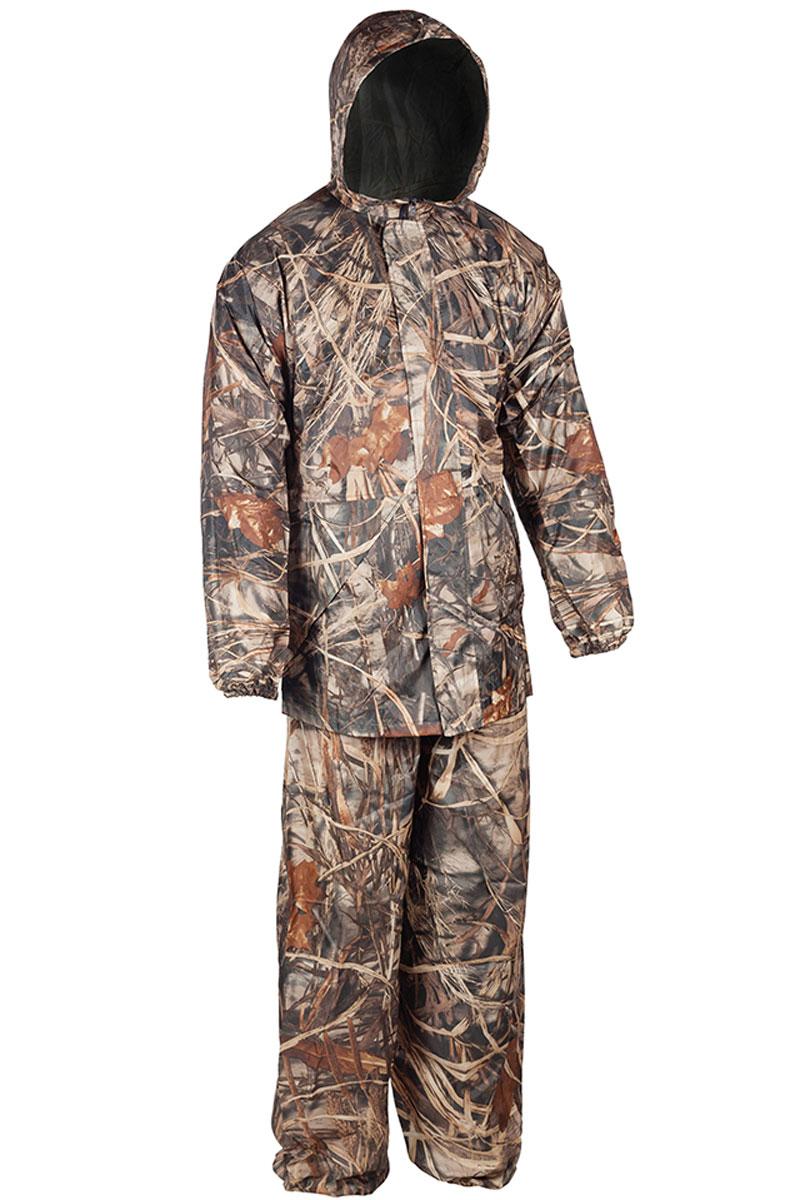 Костюм рыболовный мужской Huntsman Шторм, цвет: камыш. sh_200-703. Размер 48-176 костюм huntsman арктика тк nylon taslan со снегозащитными гетрами ark 100 976 серый черный