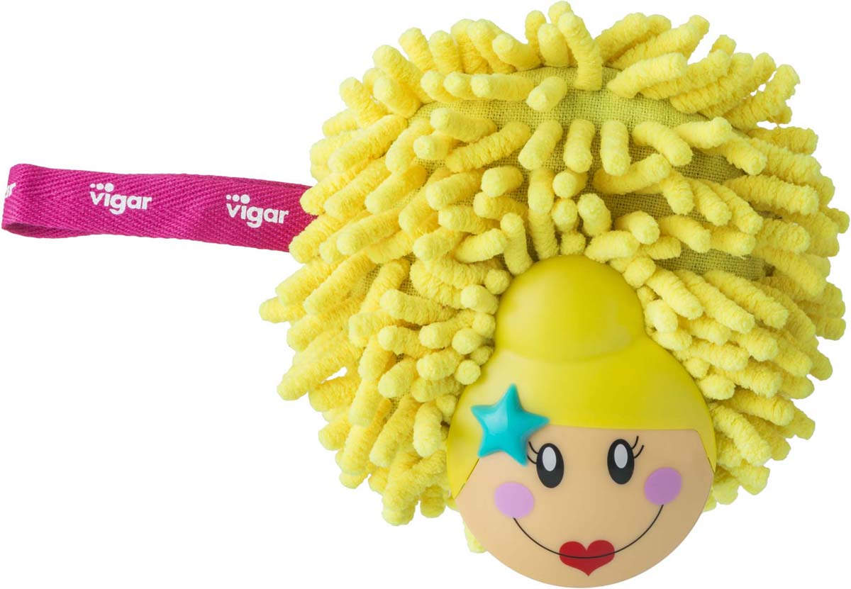 Губка Vigar Dolls, цвет: желтый