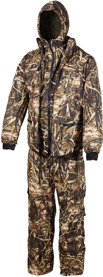 Костюм рыболовный мужской Huntsman Тайга-3, цвет: камыш. t_100_sm-703. Размер 44/46