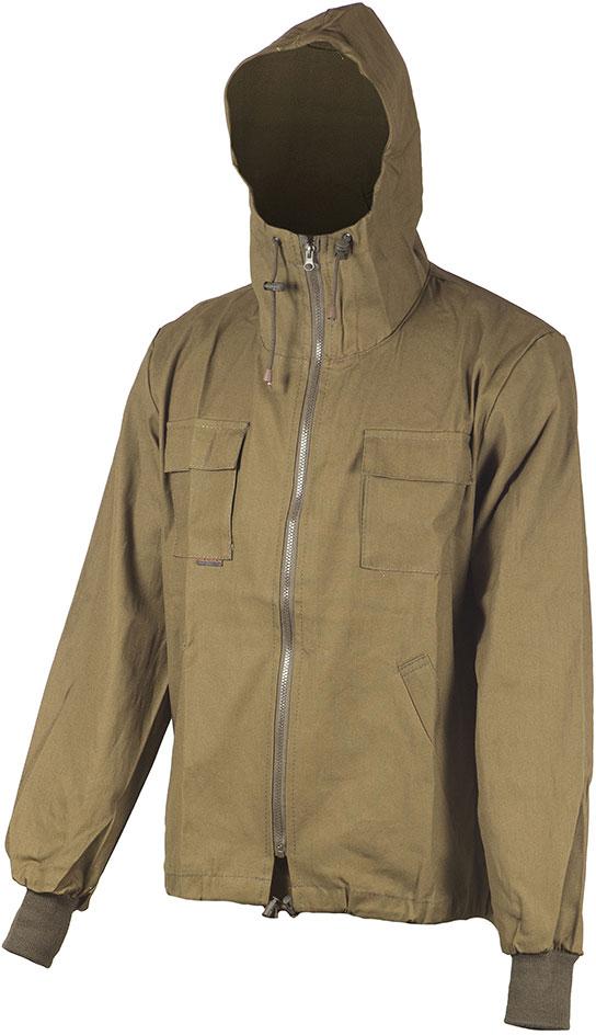Куртка рыболовная мужская Huntsman Тайга, цвет: хаки. tp_100-521. Размер 60/62
