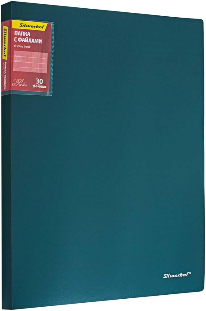 Silwerhof Папка Perlen с 30 вкладышами A4 цвет зеленый бюстгальтер с вкладышами sadie