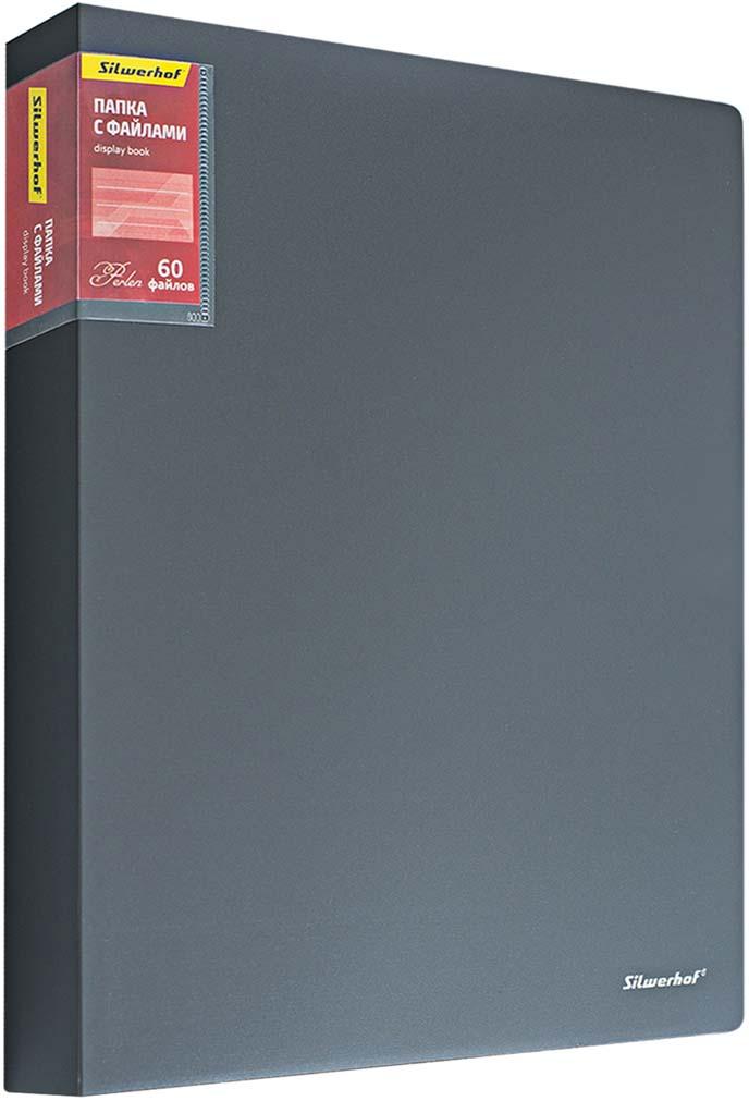 Silwerhof Папка Perlen с 60 вкладышами A4 цвет серый металлик