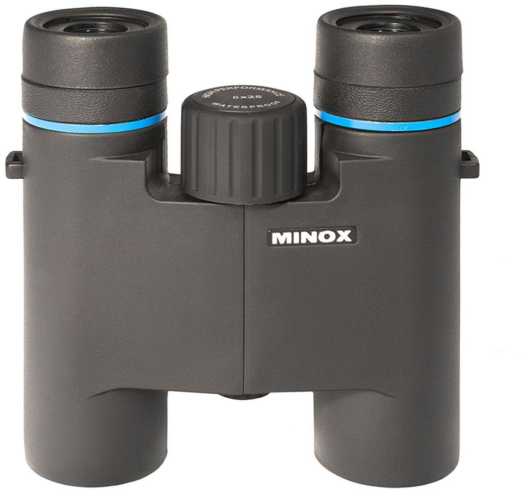 Minox BLU 8x25 бинокль бинокль minox bn 7x50 dc белый