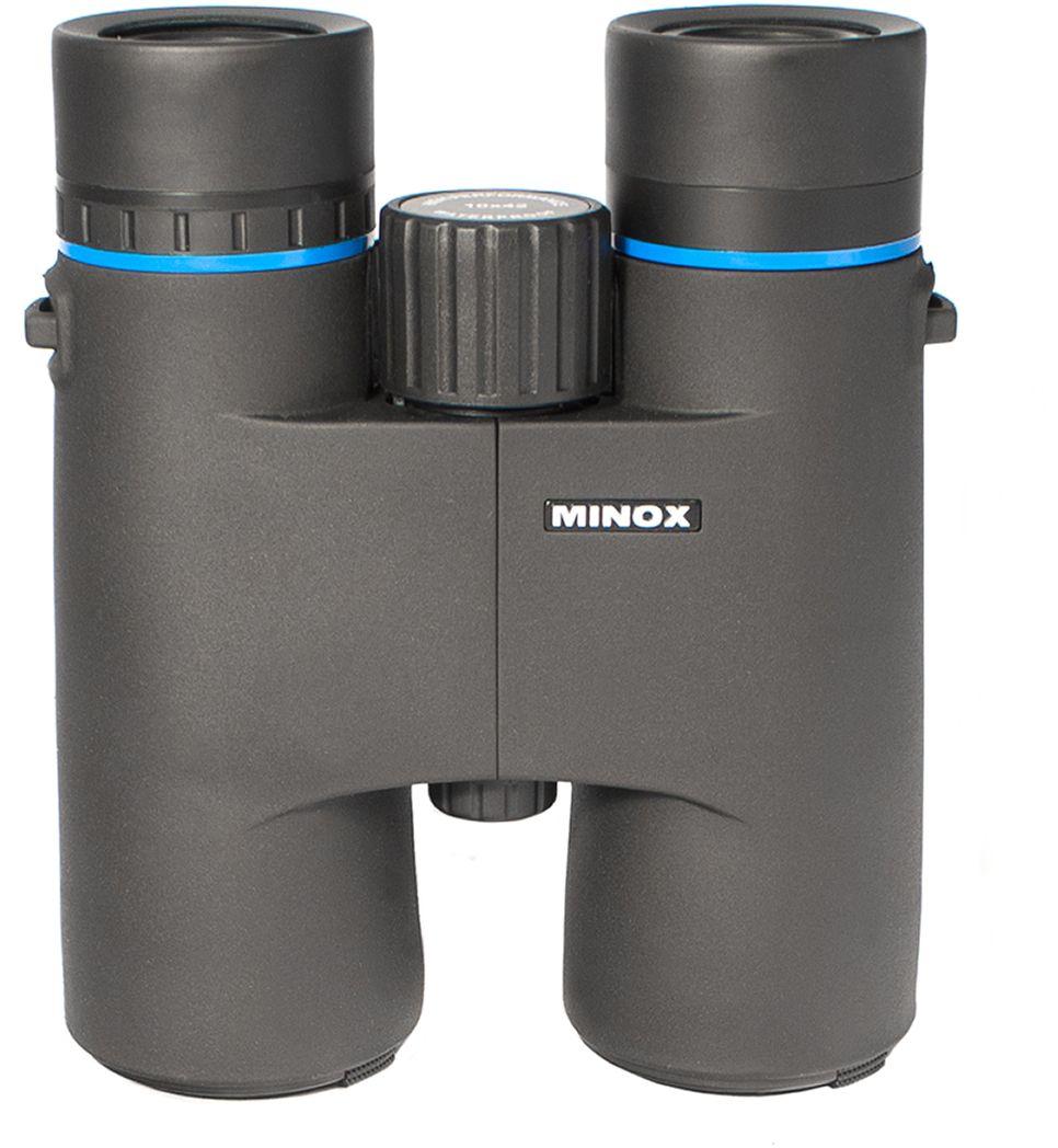 Minox BLU 10x42 бинокль бинокль minox bn 7x50 dc белый